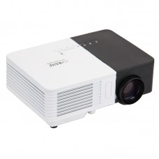 Mini Portable LCD LED Home Cinema Projector 1080p Multimedia Movie for Kids Gift