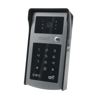 WIFI Video Door Phone Apple and Wireless Video Intercom System ID Card Doorbell