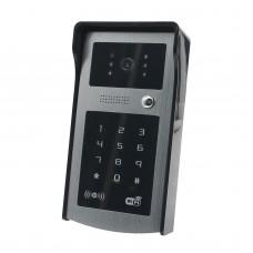 WIFI Video Door Phone Apple and Wireless Video Intercom System ID Card Doorbell