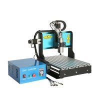 CNC3040 1500W 3 Axis Water Cooling Aluminum Mini Engraving Machine DIY CNC Router