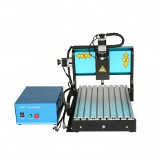 3 Axis 300W Plastic Woodworking Household Mini CNC Engraving Machine
