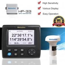 "4.3"" High Sensitivity Marine GPS Navigator Solution Matsutec HP-33 2017 LN"