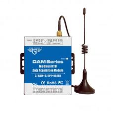 Remote I/O Data Acquiition Module RTU RS485 DAM102~DAM124 Series