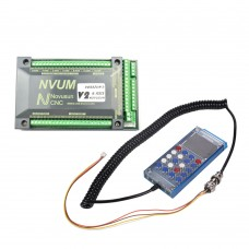 6-Axis NVUM6 USBMACH3 Interface Board Card CNC + NVSK 6 Axis Hand Manual Control Box DDREAM