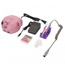 Manicure Pedicure Electric Drill File Polish Nail Art Pen Machine Set Kit