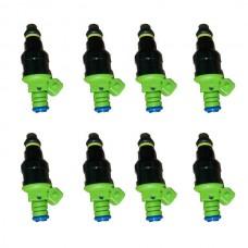 Set 8 42Ib 440cc EV1 Fuel Injectors for GM LT1 LS1 LS6 Ford Mustang SOHC DOHC