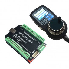 NVUM3-SP USBMACH3 Board Card 3 Axis Controller + NVMPG CNC Manual Pulse Generator MPG 6 Axis