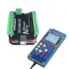 NVUM6-SP USBMACH3 Board Card 6 Axis Controller + NVSK 6 Axis Hand Manual Control Box DDREAM
