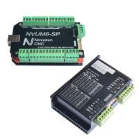 NVUM6-SP USBMACH3 Board Card 6 Axis Controller + FMD2740C Stepper Motor Driver Controller