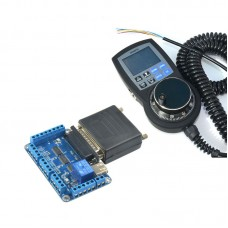 NC200 6 Axis USBMACH3 CNC Controller Board Card + NVMPG-3D CNC Manual Pulse Generator MPG