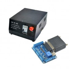 NC200 6 Axis USBMACH3 CNC Controller Board Card + NVBOX CNC Engraving Machine Controller Box