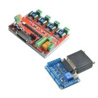 NC200 6 Axis USBMACH3 CNC Controller Board Card + NV8727T4 Stepper Motor Driver
