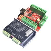 NVUM-SP CNC USB Card MACH3 Board Driver Motion Controller + FMD2740C Stepper Motor Driver Controller