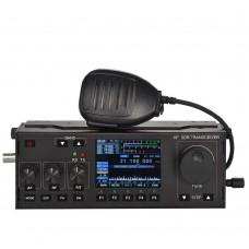 15W RS-918 SSB HF SDR HAM Transceiver Transmit Power TX 3.5-30MHz Scaner