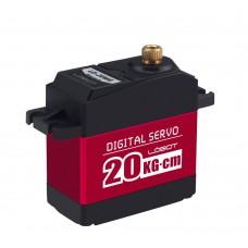 Digital Servo Metal Shell 20Kg.cm for Robot Mechanical Arm Claw LD-20MG
