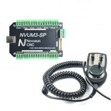 NVUM3-SP USBMACH3 Board Card 3 Axis Controller + MPG02 Pulse Generator Handwheel