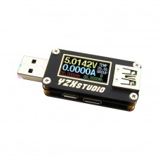 Colour TFT Dual USB Power Monitor YZXstudio ZY1275 QC4.0 PD3.0 PPS Fast Charger