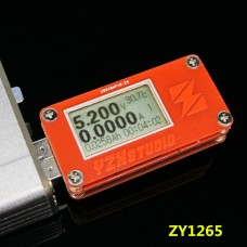 USB 2.0 LCD Power Monitor Tester Voltage Current YZXstudio ZY1265 QC 3.0 18-bit Power Meter