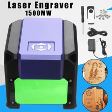 1500mW USB Laser Engraving DIY Logo Mark Printer Cutter Carver Machine