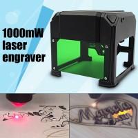 1000mW Mini USB Laser Engraver Mark Printer Cutter Carver Engraving Machine US Plug