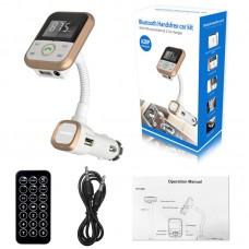 Bluetooth Car Kit FM Transmitter MP3 Player Handsfree Wireless Radio Adapter USB Charger