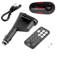 Car Styling Car Kit MP3 Player Wireless FM Transmitter Modulator Radio Adapter