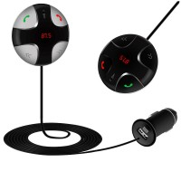 FM29B FM Transmitter Bluetooth V3.0 Car Kit MP3 Player Wireless Modulator with LED Display USB Charger