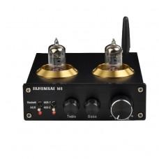 PJ.MIAOLAI M8 HiFi Power Digital Amplifier Bluetooth 6J1 Electron Tube Black
