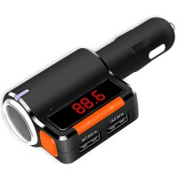 Bluetooth Car Charger MP3 Player Handsfree Kit AUX Hands Free FM Transmitter BC09