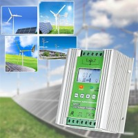 300W LCD Wind Solar Hybrid Charge Controller 12/24V MPPT PWM Mode