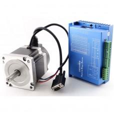CNC Hybrid Closed loop Stepper Servo Drive Driver 2HSS86H + 4.5N.M Motor + Encoder