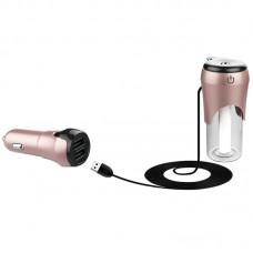 BC20 Car Air Humidifier USB Powered Air Purifier Freshener with Car Charger