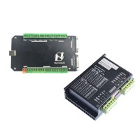 NVCM MACH3 3 Axis Motion Controller CNC Card Board + Stepper Motor Controller FMD2740C