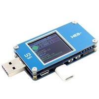 U3_MFI USB Voltage Ammeter Capacity Tester PD Trigger Fast Charge Power TYPE-C Tester QC Standard Version