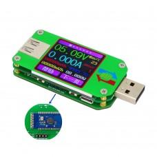 UM24C USB 2.0 Color LCD Display Tester Voltage Current Meter Voltmeter Measure