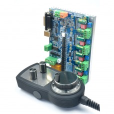 CNC MACH3 4 Axis Motion Controller USB8727T4 + MPG02 Standard Pulse Generator Handwheel