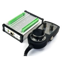 MACH3 3 Axis Montion Controller NVEC3 + MPG02 Standard Pulse Generator Handwheel
