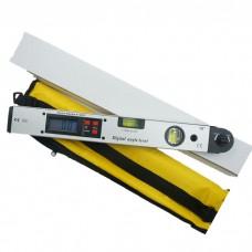 0~225° LCD Digital Protractor Inclinometer Angle Meter Spirit Level Finder Gauge