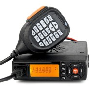 Mini BJ-218 Car Trunk Ham Mobile Transceiver Two Way Radio Dual Band VHF/UHF 25W