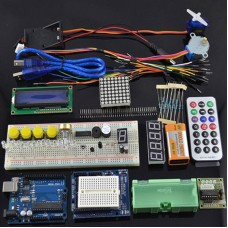 ULTIMATE UNO R3 Updated Starter Learning Kit for Arduino