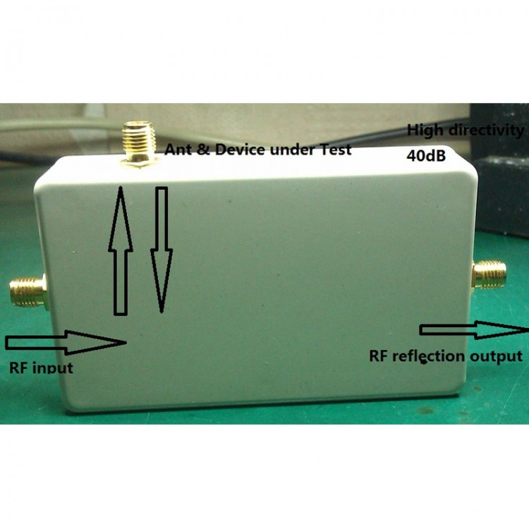 500KHz-2 5GHz 40dB RF Bridge Reflection Bridge VSWR Network