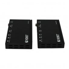 HDMI Extender over Cat5e/Cat6 HD BaseT Transmitter Receiver Signal Convert Transfer 70M HBT-E70S