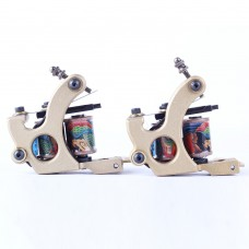 Copper Coils Tattoo Guns Wraps Liner and Shader Top Quality Tattoo Machine