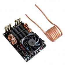 1000W 50A ZVS Induction Heating Machine Module DC12V-40V High Frequency with Fan