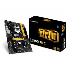 TB250-BTC Mining Motherboard Intel B250 Chipset Support 6 PCI-e Slots with 6 Cards