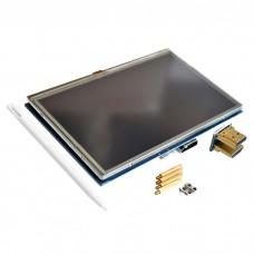 """Raspberry Pi Pi2 HDMI 5"""" LCD A+/B+/2B LCD Raspberry Touch Screen Display"""