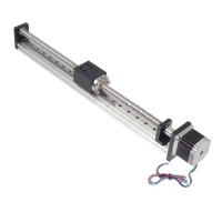 Threaded Rod Linear Guide Rail with Motor and Ball Screw for CNC Linear Actuator 500MM