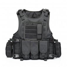 Tactical Vest Outdoor Equipment Army Fans Field Tactical Vests CS Military Combat Vest
