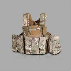 Tactical Vest Molle Combat Assault Plate Carrier Vest Tactical & Duty Gear -CP
