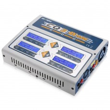 EV-PEAK CQ3 100W 10A 1-6S Battery Balance Charger for LiPo LiFe NiMH NiCd Battery